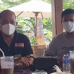 Pertemuan Pengurus Komisi Lampung di Warkop WAW Lamban Gunung