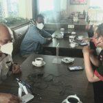 Ngobras Komisi Lampung Disiarkan Secara Langsung oleh Radio Mandala