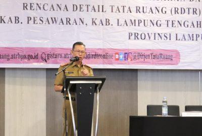 Pemprov Lampung Gelar FGD Tata Ruang Terkait OSS