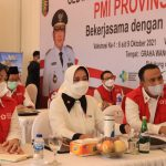 Ketua PMI Lampung Tutup Gebyar Vaksinasi Covid-19 Tahap Pertama