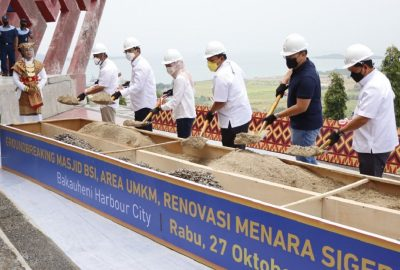 Pada Tahap Awal, Ini yang Akan Dibangun di Bakauheni Harbour City