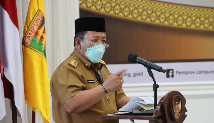 Gubernur Arinal Lepas Kafilah Lampung STQ Nasional XXVI