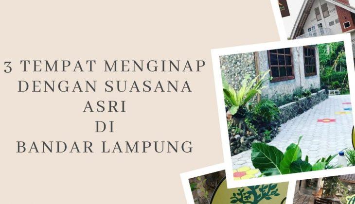 Tempat menginap di Bandar Lampung