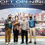 Kampus Kridawisata Menghadiri Soft Opening Hotel Rid's Palembang