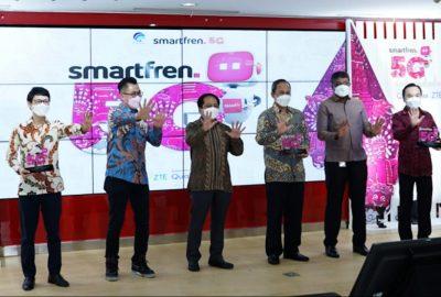 Kominfo Gelar Uji Coba Teknologi 5G Tahap Kedua Bersama Smartfren