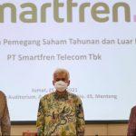 RUPS Tahunan & Luar Biasa PT Smartfren Telecom Tbk Angkat 3 Komisaris Baru