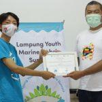 Gajahlah Kebersihan Sukses Mengadakan Program Lampung Youth Marine Debris Summit 2.0 (LYMDS)