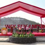 Presiden Jokowi Resmikan Bendungan Way Sekampung di Kabupaten Pringsewu