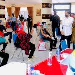 Presiden Tinjau Langsung Program Vaksinasi di Provinsi Lampung