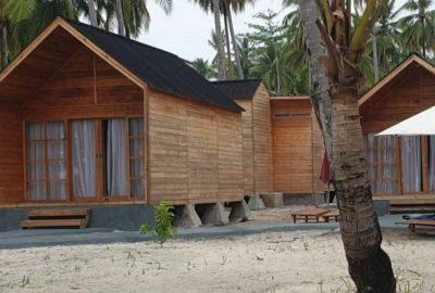 Kampung Laut Menyediakan Cottage untuk Tempat Menginap di Pulau Mahitam