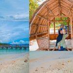 Lembutnya Pasir Putih nan Bersih di Pantai Mutun