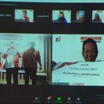 Pelantikan Pengurus DPD Komisi Lampung 2021-2023 Dilakukan Secara Daring