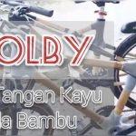 Jam Tangan Kayu dan Sepeda Bambu Yolby,tersebar Keseluruh Nusantara