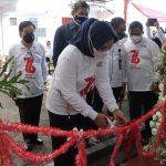Riana Sari Arinal Resmikan Gerai Donor Darah pada Peringatan HUT PMI
