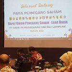 Gubernur Arinal Djunaidi Pimpin RUPS-LB Bank Lampung