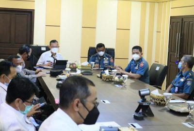 Sekdaprov Fahrizal Darminto Menerima Tim Kajian Daerah Sekretariat Jenderal Wantannas