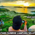Spot Kece Bukit Pematang Sunrise