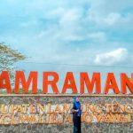 Dam Raman Menjadi Tempat Rekreasi Warga Metro dan Sekitarnya