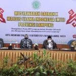 Wakil Gubernur Buka Musda X MUI Provinsi Lampung