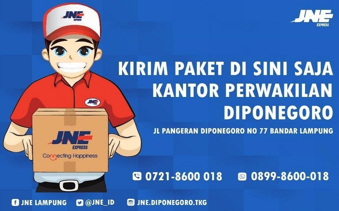 Jne Diponegoro Siap Jemput Kiriman Kamu Travel2lampung