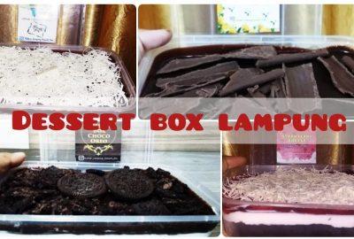 Dessert Box Lampung Hadir untuk Pecinta Brownies