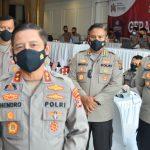 Kapolda Lampung Tinjau Pelaksanaan Vaksinasi Merdeka Siger Lampung