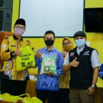 Alumni SMAN 1 Talang Padang 95 bersama ACT Lakukan Bakti Sosial di Almamater