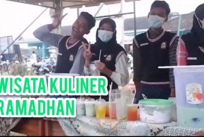 Bazar Kuliner Ramadhan Menjual Berbagai Menu untuk Berbuka