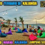 Pantai Kedu Warna Makin Dikenal Wisatawan